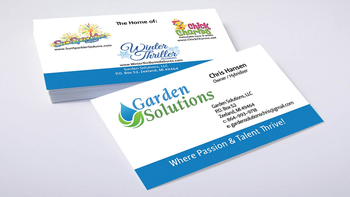 Garden solutions besign concepts garden solutions business card reheart Gallery